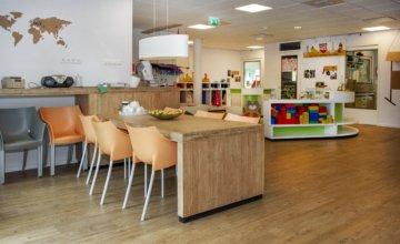 Big spaces at True Colors Childcare Rijswijk binnen